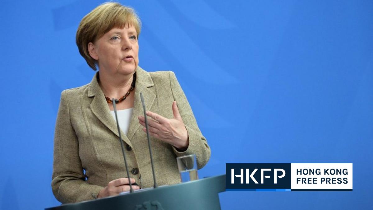 Angela Merkel China