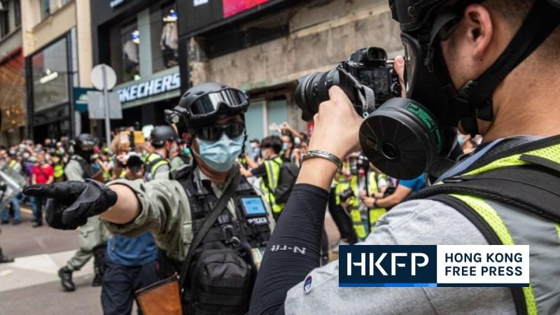 Carrie Lam police media