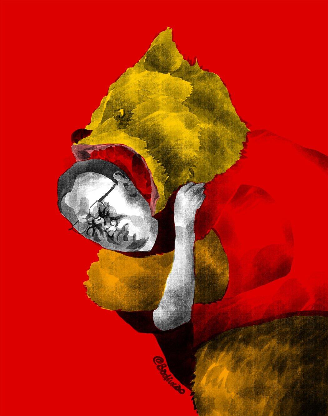 winnie the pooh badiucao