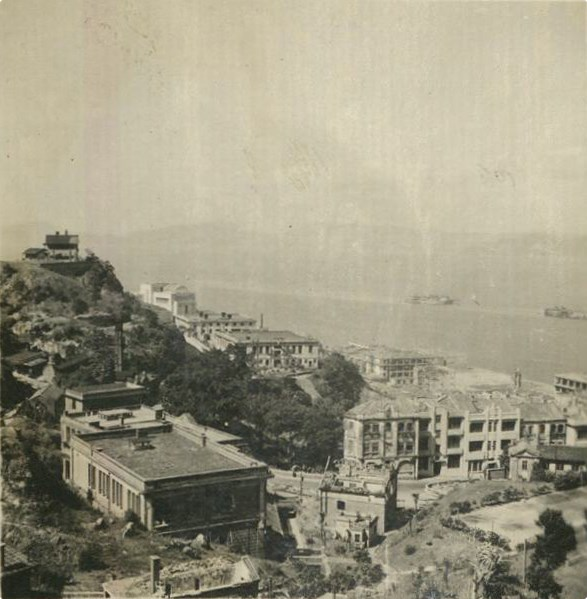 HKU General view from the Vice Chancellor's Lodge to West