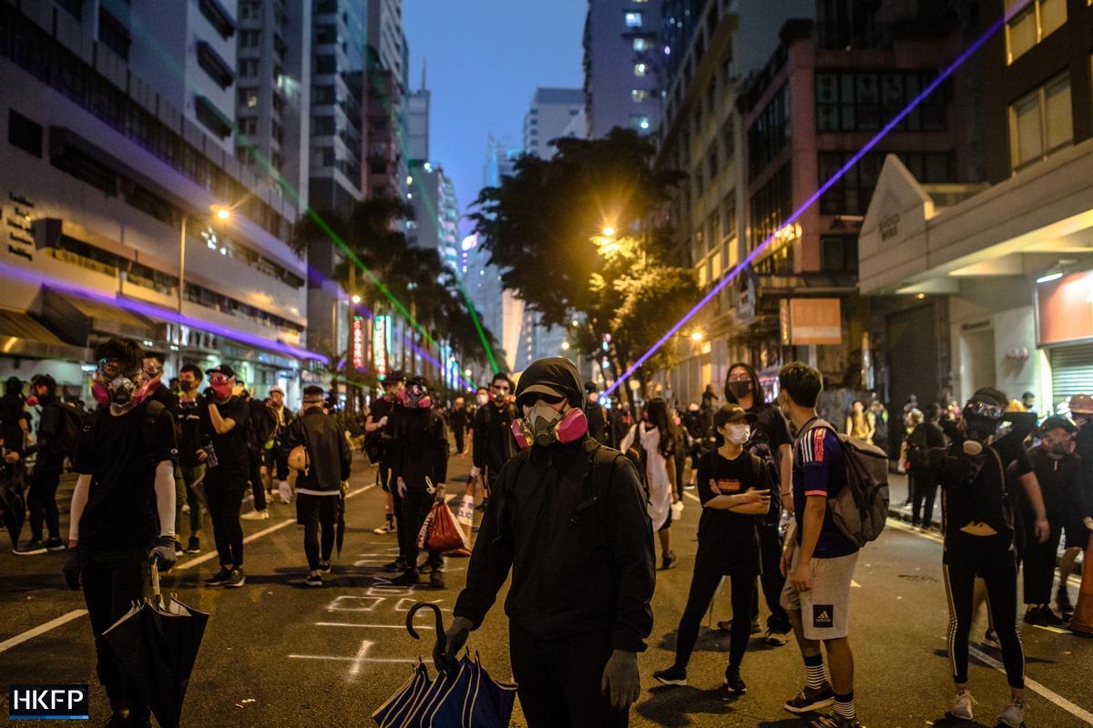 protest gear black lazer light