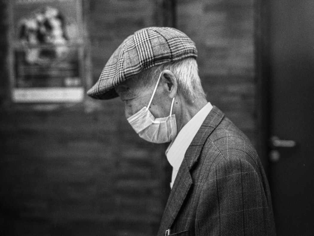 Henk Jan Pomstra - Old man in Sai Ying Pun