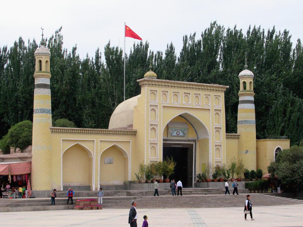 Xinjiang muslim mosques