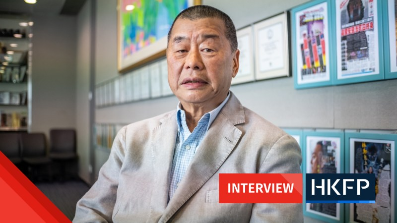 Jimmy Lai interview