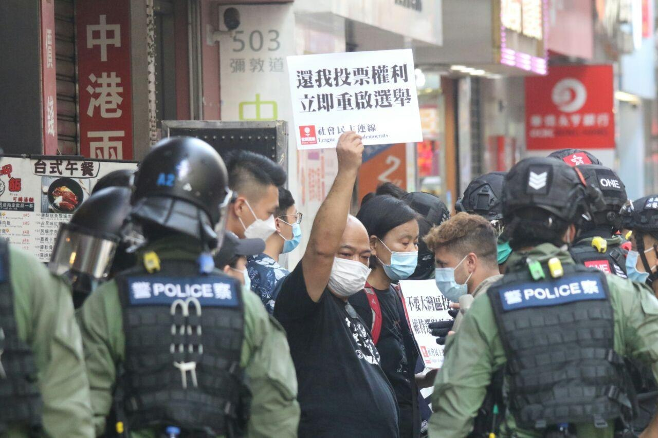 september 6 elections protest