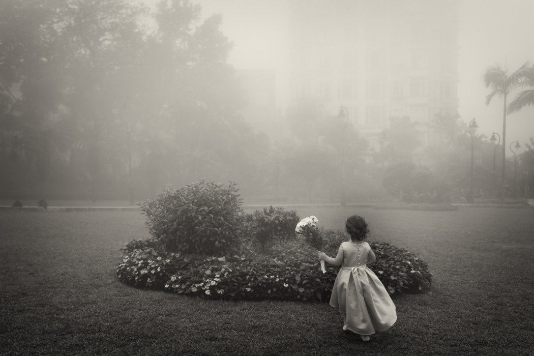 Mary Dimitropoulou - Girl in the fog