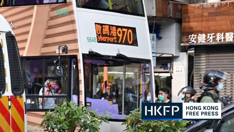 bus driver arrest