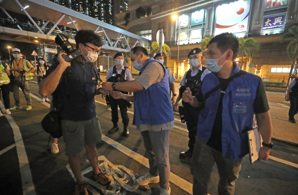 press freedom tseung kwan o