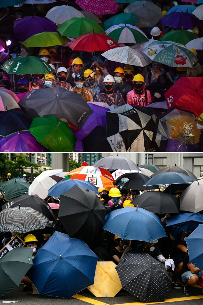 Thailand Hong Kong protests