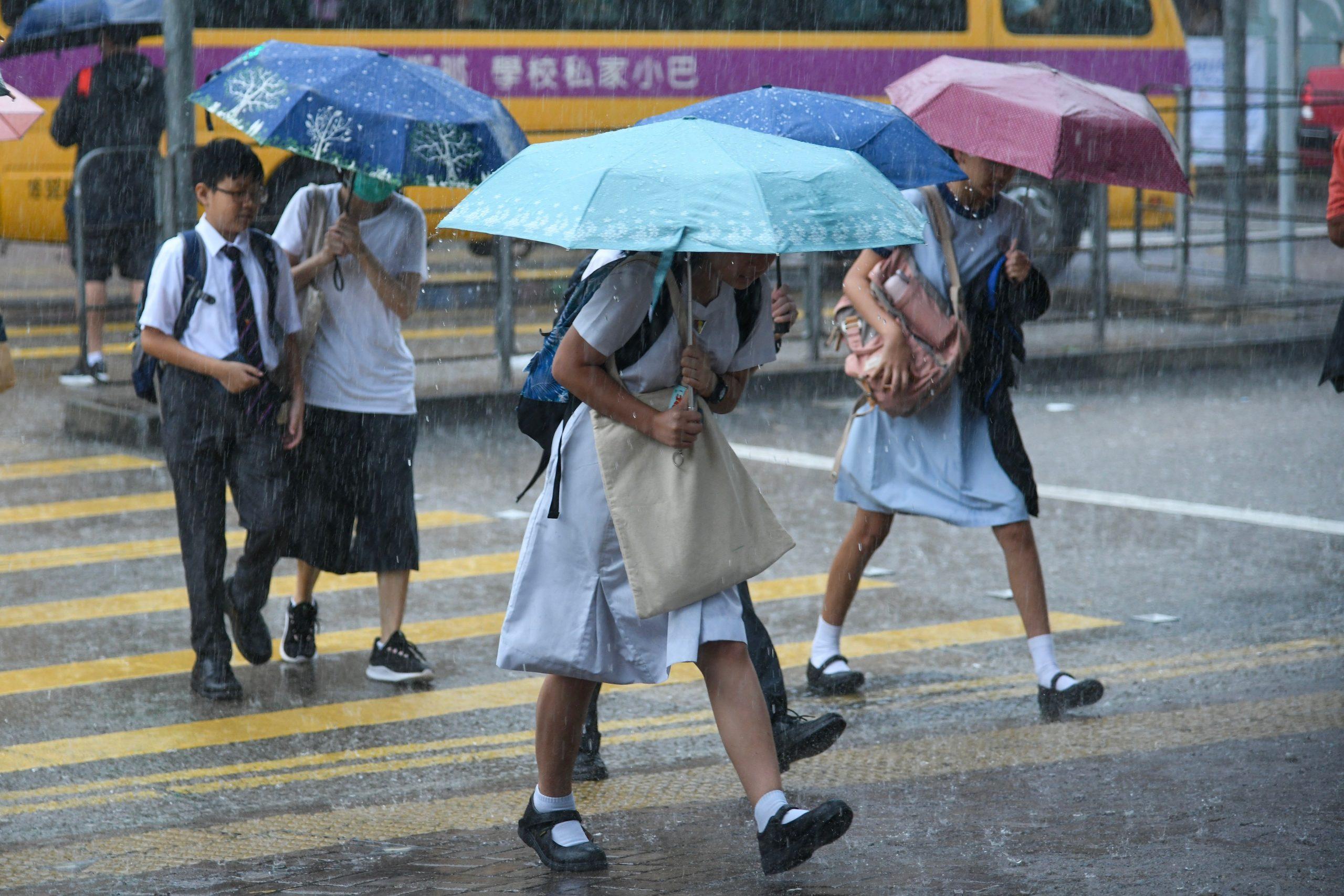 student school education uniform rain umbrella