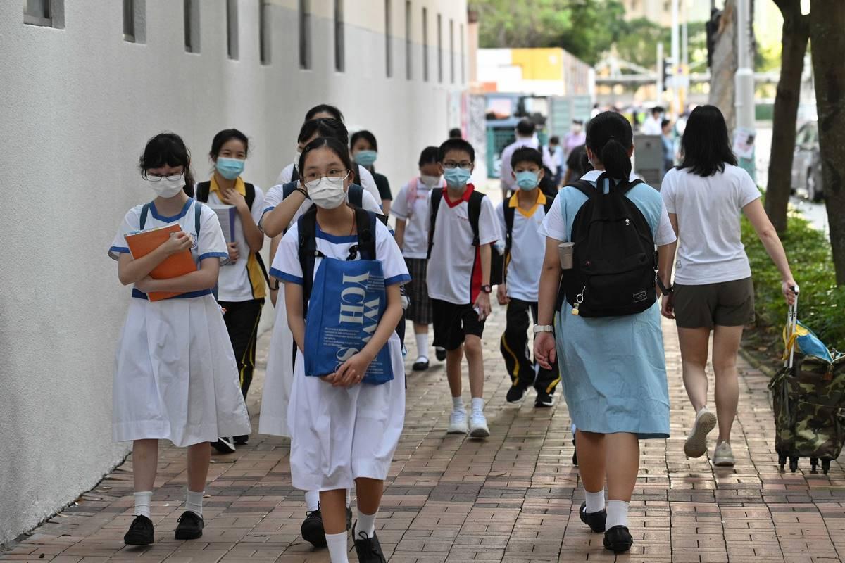 Student school coronavirus mask