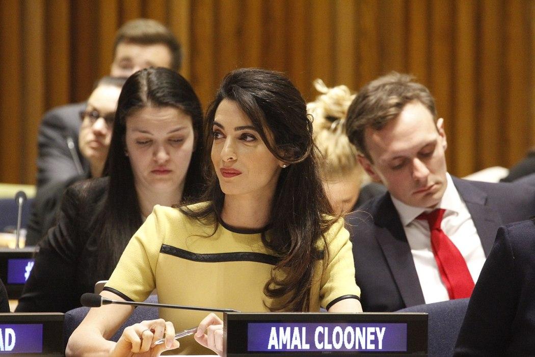 Amal Clooney lawyer