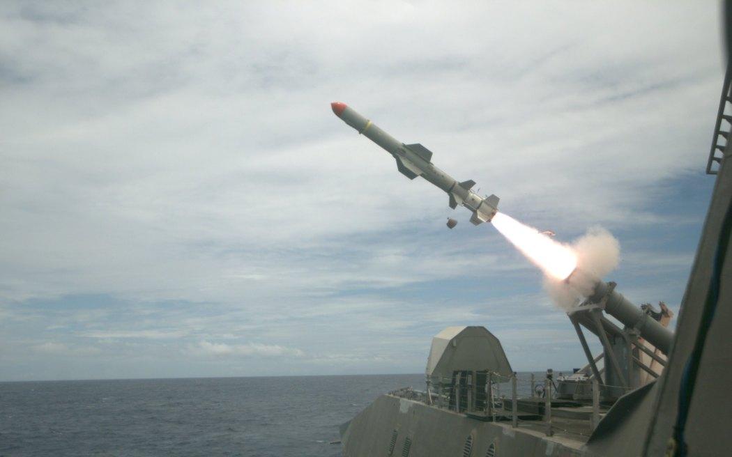 harpoon missiles US