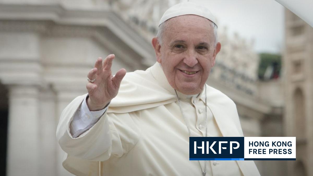 pope francis china vatican