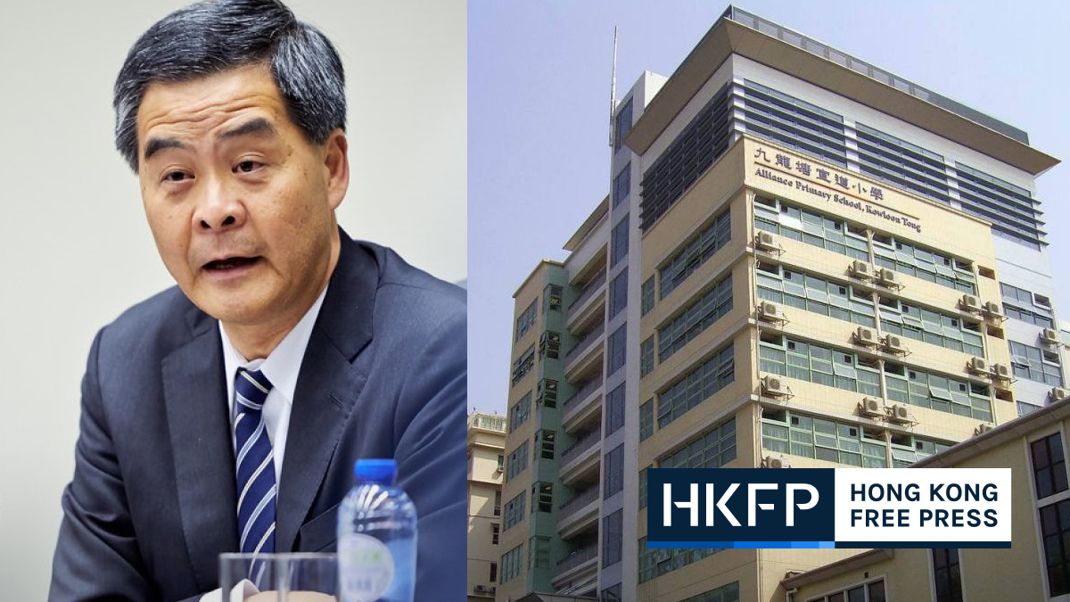 cy leung education 803 action