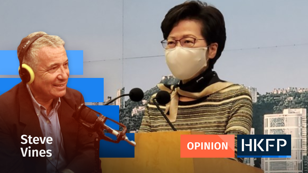 Carrie Lam - Steve Vines
