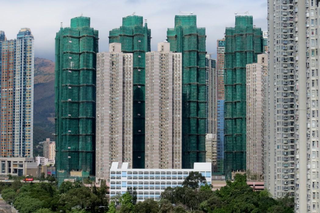 Hong Kong real estate construction