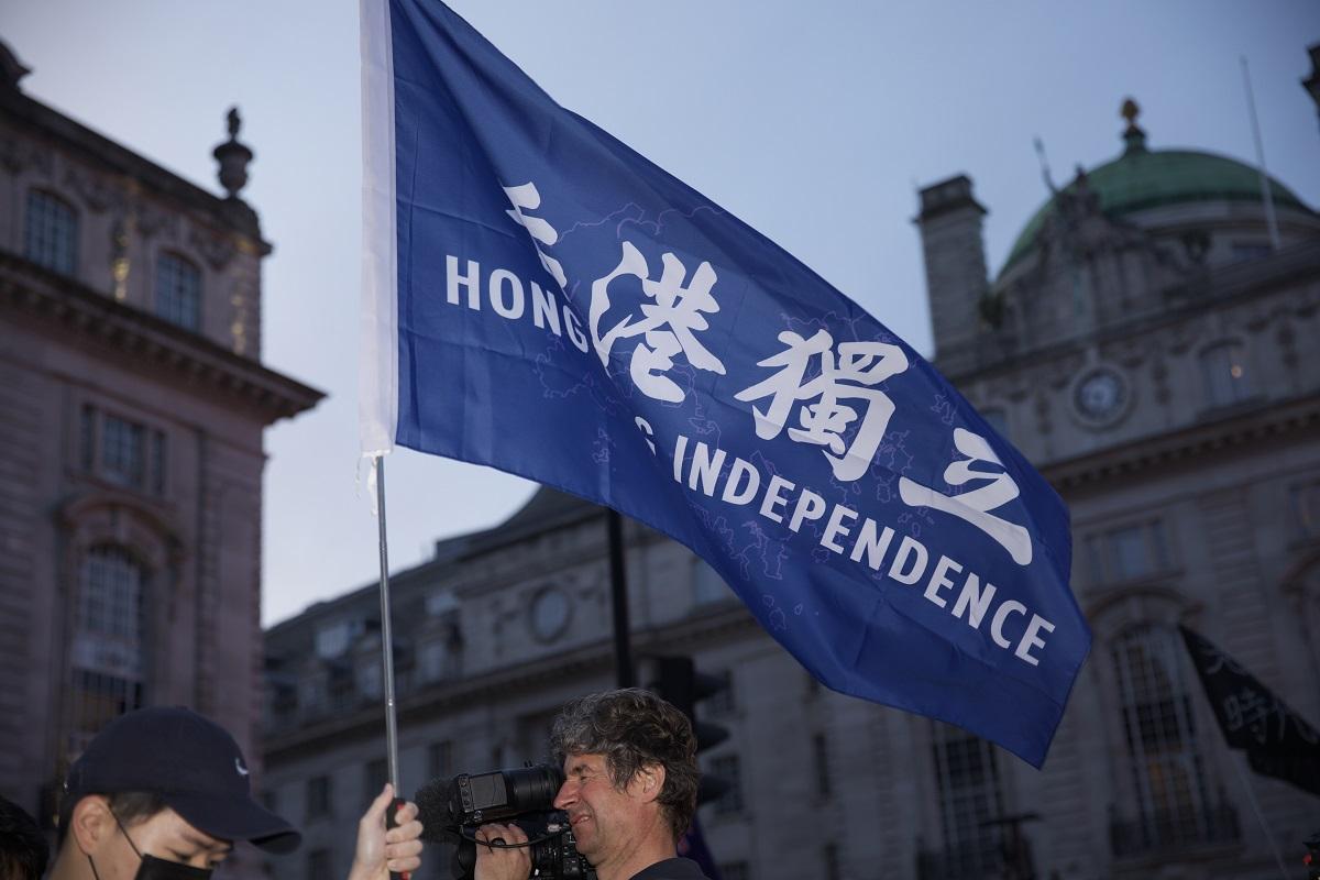 London National Day October 1 rally Hong Kong Independence