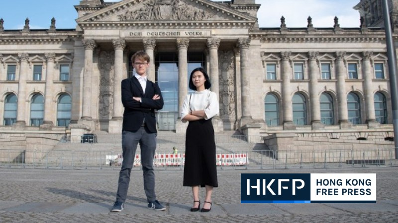 Glacier kwong, David missal for german lobbying group Wir Fur Hongkong