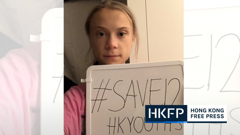 Greta Thunberg save 12