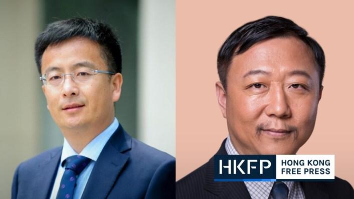 HKU-new-vice-presidents-shen-zuojun-gong-peng