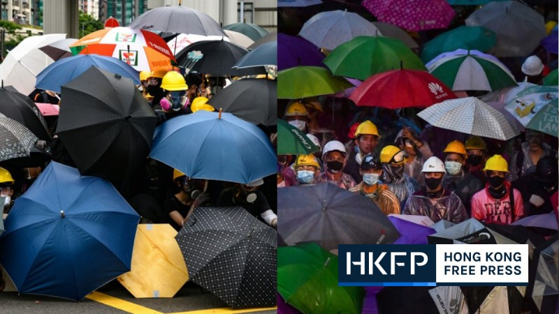 Hong Kong Thailand protest parallels