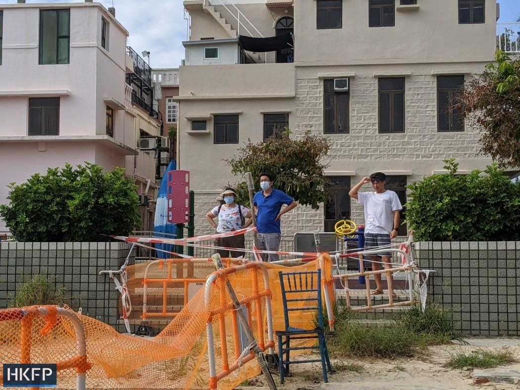 Shek O beach closure under covid