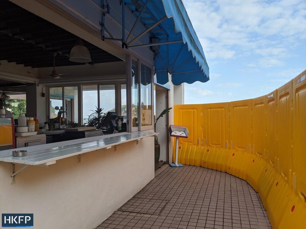 Cococabana restaurant Shek O beach closure under covid
