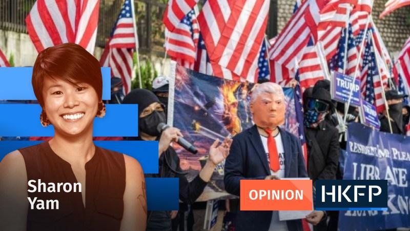 Trump Biden - Sharon Yam