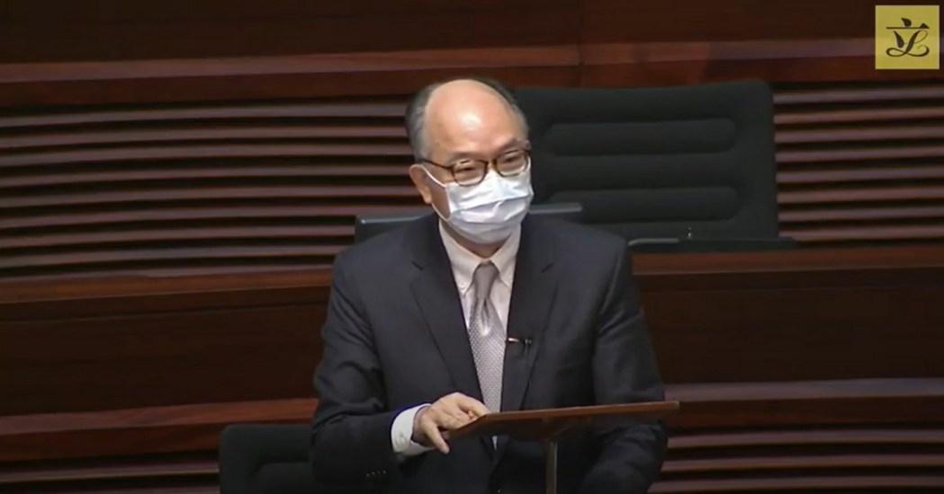 Frank Chan Fan Secretary of Transport and Housing