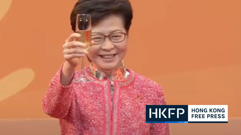 carrie lam october 1