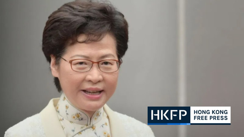 carrie lam sanctioned