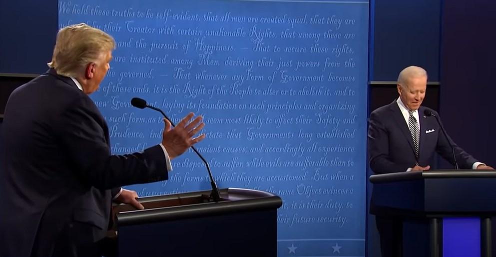 Trump Biden 2020 debate USA