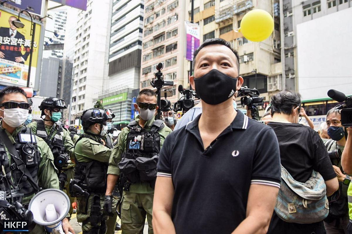 Ray Chan October 1 Causeway Bay