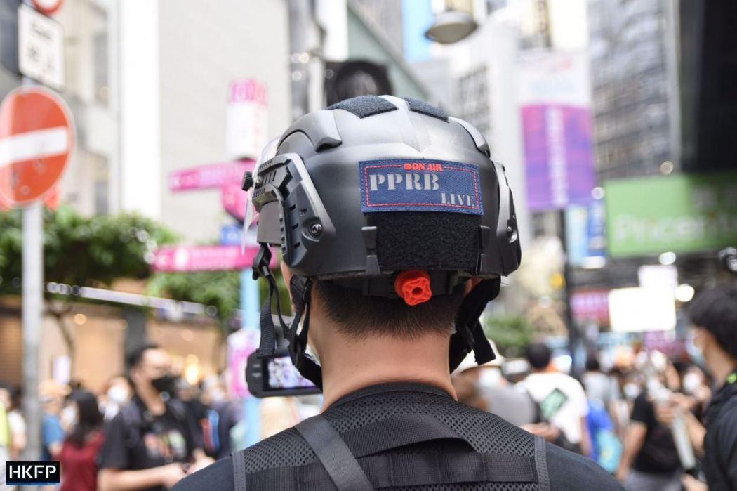 PPRB live Police commentator