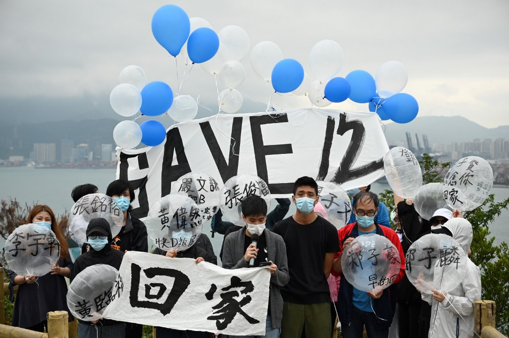 members of the Save12HKers campaign