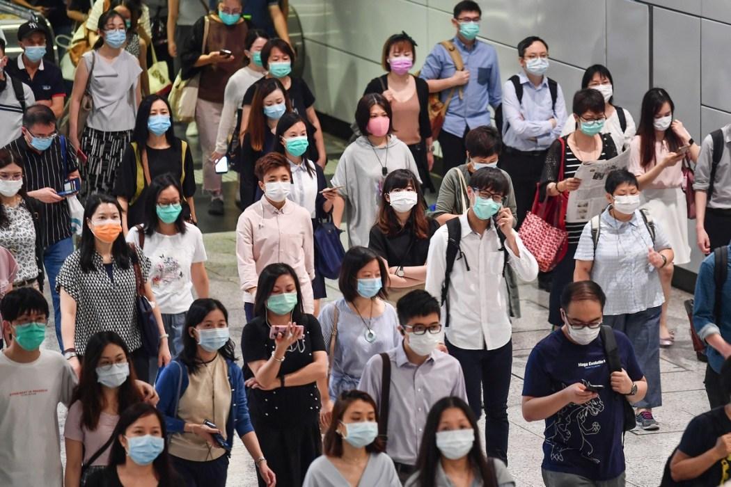 Coronavirus virus covid-19 mask MTR