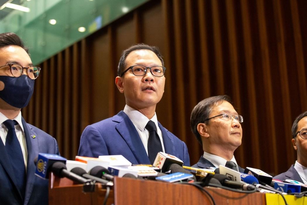 Dennis Kwok disqualify Legislative Council
