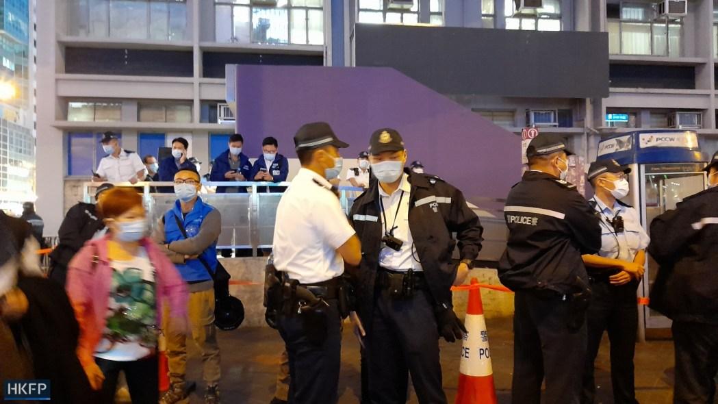 Police Prince Edward November 30 2020