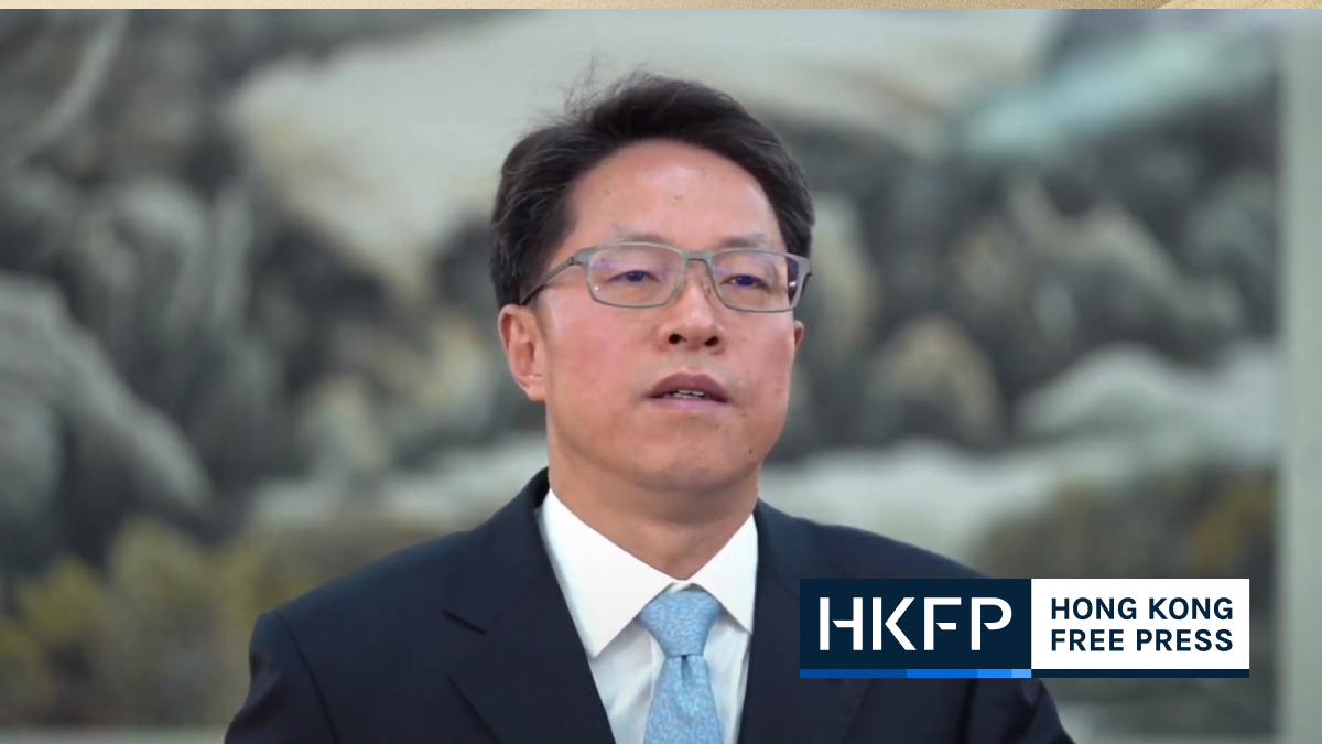 hong kong macao office zhang xiaoming at basic law summit feature img