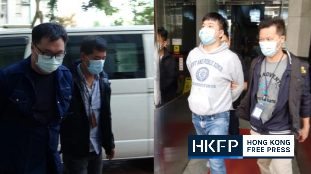 henry wong and timothy lee arrested