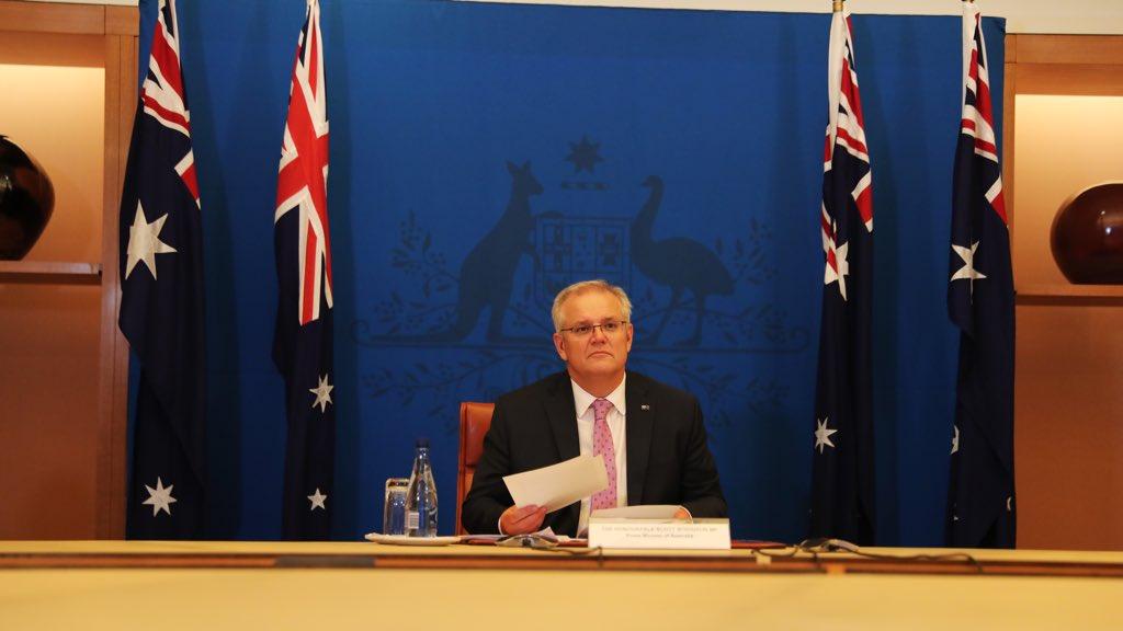 Scott Morrison, Australian Prime Minister