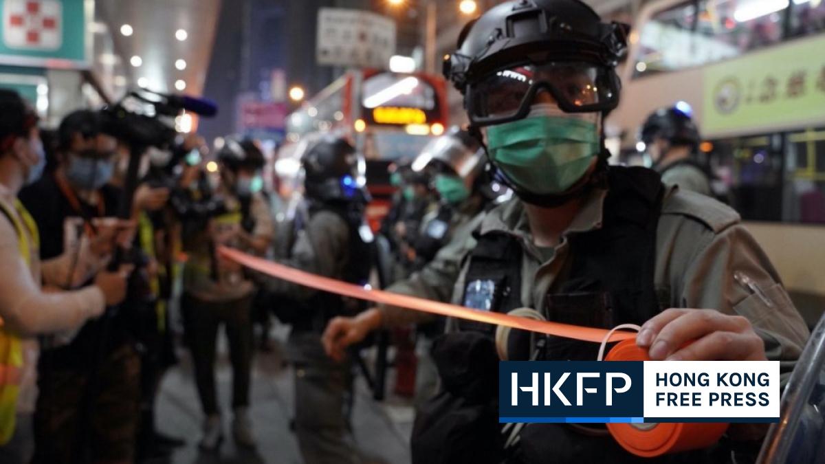 Hong Kong police arrest