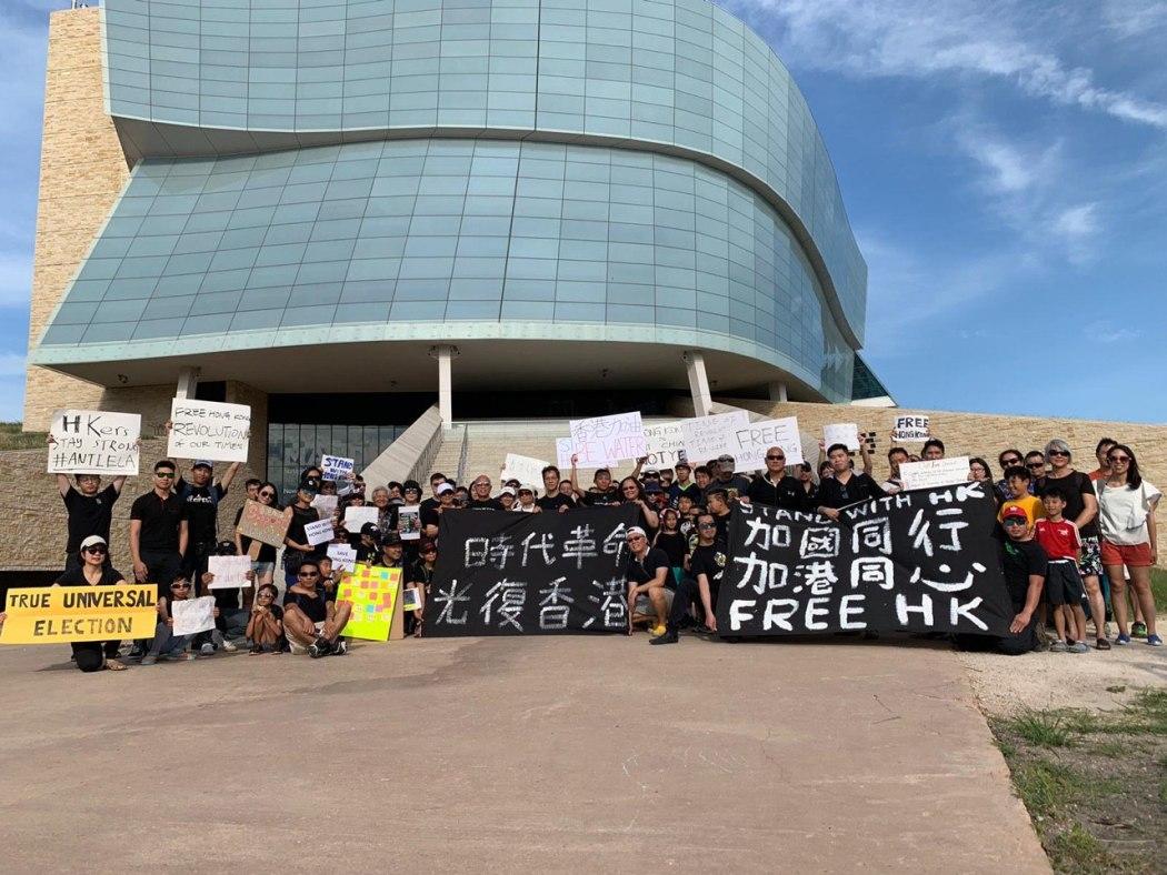 Stand with Hong Kong Winnipeg