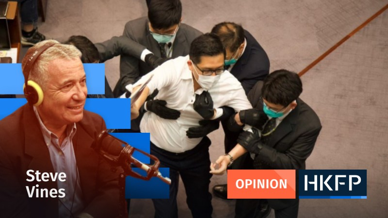 Legco arrest - Opinion - Steve Vines