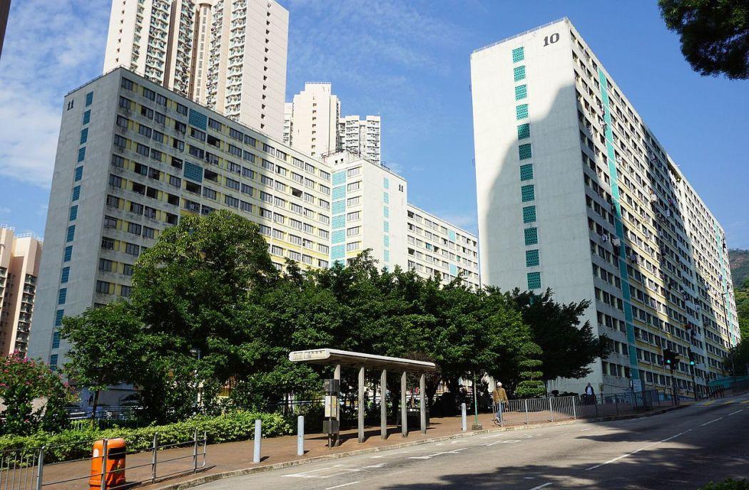 Shek_Lei_Interim_Housing_(full_blue_sky)