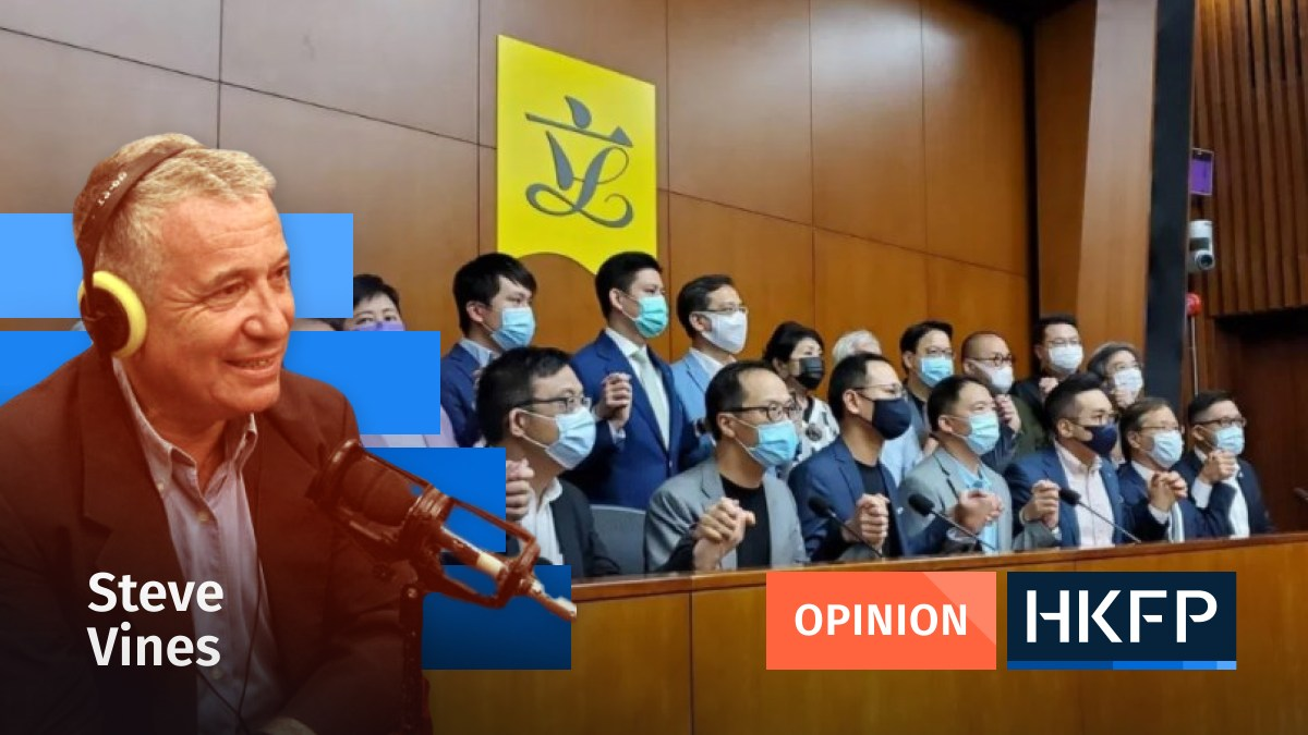 Pan-democrats in LegCo