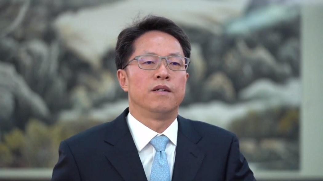hong kong macau macao office zhang xiaoming at basic law summit
