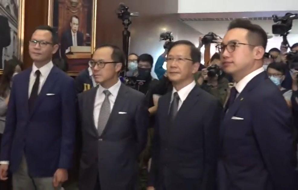 Dennis Kwok Kenneth Leung Kwok Ka-ki Alvin Yeung