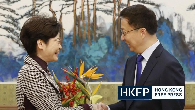Carrie Lam meets Han Zheng